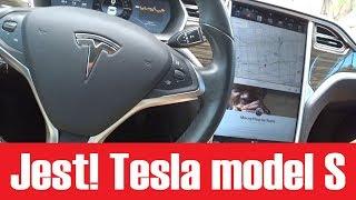 Tesla model S - pierwsza jazda