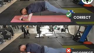 Plank do's & don'ts