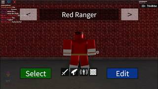 Roblox Super Hero Life II - How to make the Power Rangers - Part 1