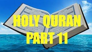 Recitation of Holy Quran Part 11/30