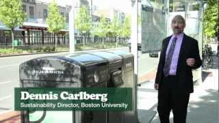 Boston University Puts Sustainability into the Public Space with BigBelly Solar