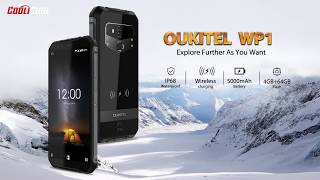 OUKITEL WP1 ice frozen, boiled water and fire challenge
