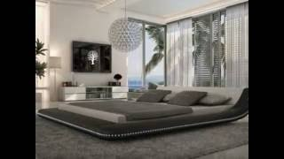 very beautiful bedroom design in hi tech style