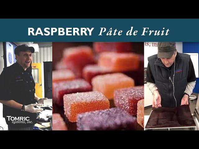 Raspberry Pâte de Fruit