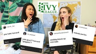 IVY LEAGUE ASSUMPTIONS ft. Katie Tracy | Harvard and Cornell