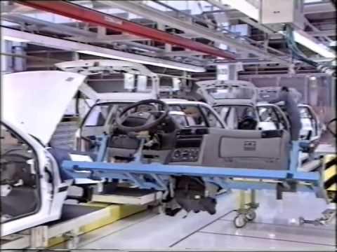 Opel Astra F gyártása Magyarországon