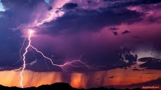 Soothing Rain & Thunder - 2 Stunden entspannendes Sommer-Gewitter - tief und erholsam schlafen