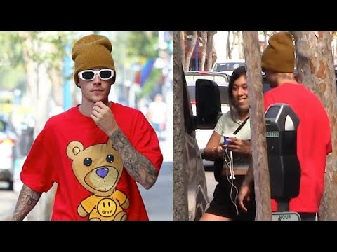 Justin Bieber Tells Female Fan To GET LOST When She Tries To Get In His Van