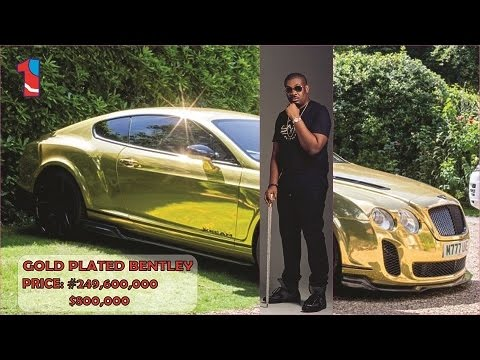 NIGERIAN MUSICIANS THAT RIDES GOLD CARS (price in Dollar & Naira) - 2017