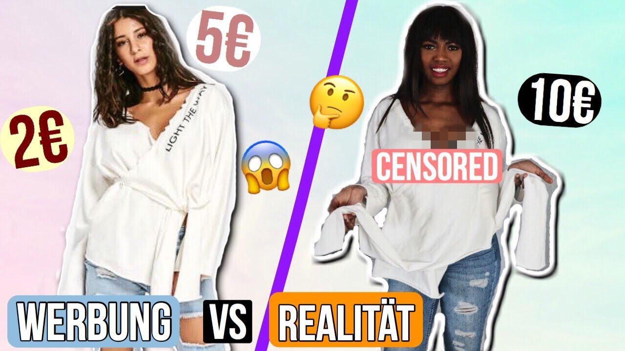 werbung vs. realität - china online shop live test | zaful frühling haul