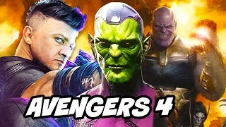 Avengers 4 Endgame Why Hawkeye Becomes Ronin and Thor Teaser Explained