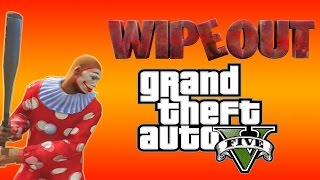 GTA 5 (Next Gen) - Wipeout game show and Party at Kanakadude's