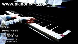 방탄소년단 피 땀 눈물 피아노 연주 Pianoheart BTS Blood Sweat Tears