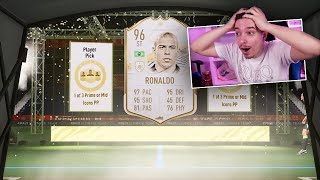 OMG RONALDO NAZARIO PRIME DIN ICON PLAYER PICK !!! FIFA 21 PACK OPENING !!!