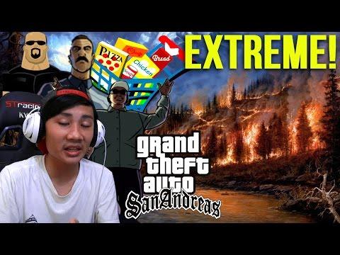 PULAU JAHANAM TERBAKAR!  – Grand Theft Auto Extreme Indonesia (DYOM#132)