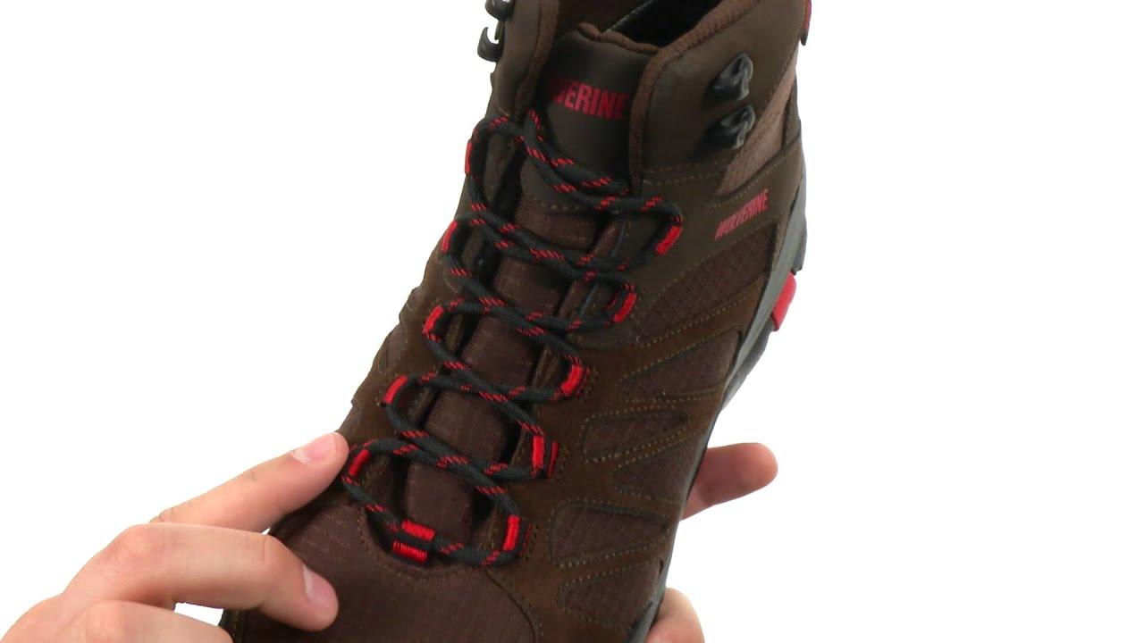 7fd53fb311 Wolverine - Fletcher Composite Toe Hiker SKU  8537608 - YouTube