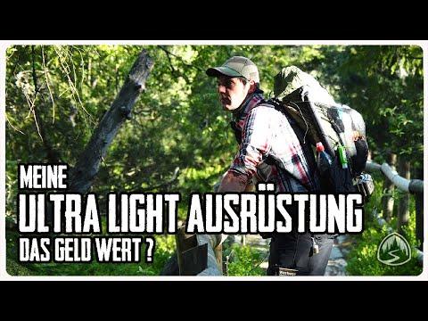 Ultra Light Ausrüstung Nach über 2000 Km Fernwandern ✪ Was War Gut, Was Schlecht ✪ Teil 1