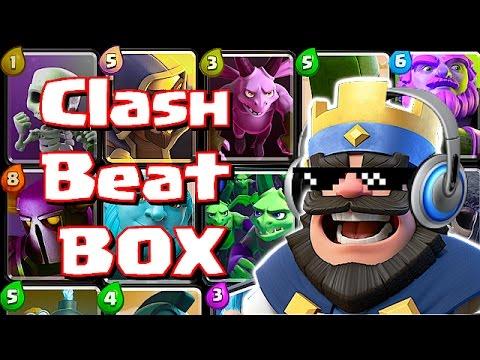 Clash Of Clans / Royale  - BEAT BOX MEGA MIX!! ( Dope Music Video)