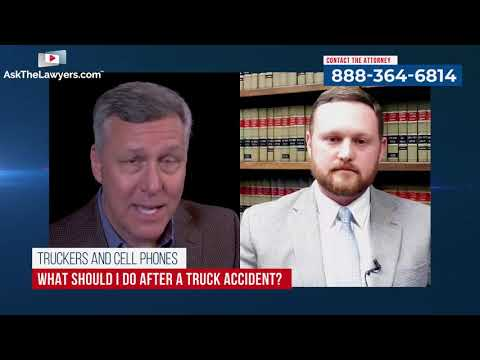 Is Cell Phone Use Causing Truck Accidents | Sloan Firm | Carson Runge