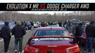 Evolution X MR vs Dodge Charger AWD