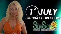 Birthday July 1st Horoscope Personality Zodiac Sign Cancer Astrology
