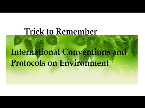 Trick To Remember Environment Conventions and Protocols