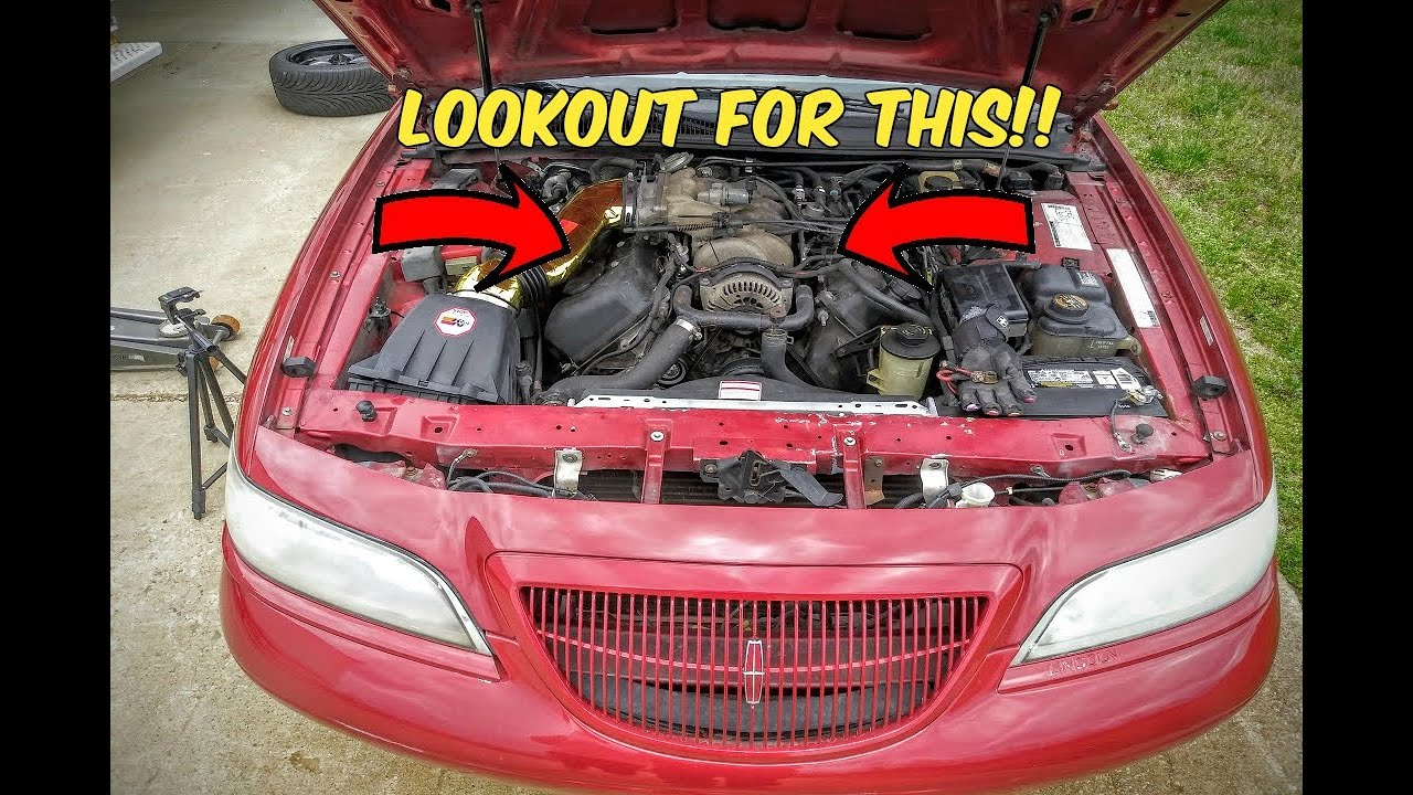 Lincoln Mark Viii Coil Pack Spark Plug Guide Youtube