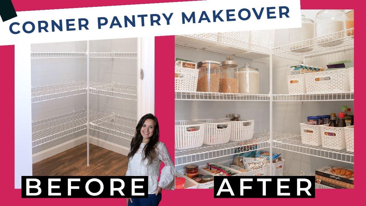 Corner Pantry Organization   Target Baskets 20