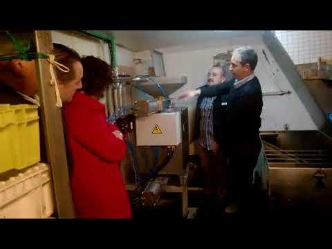 Presentan en Burela los nuevos equipos para el tratamiento de las vísceras de pescado
