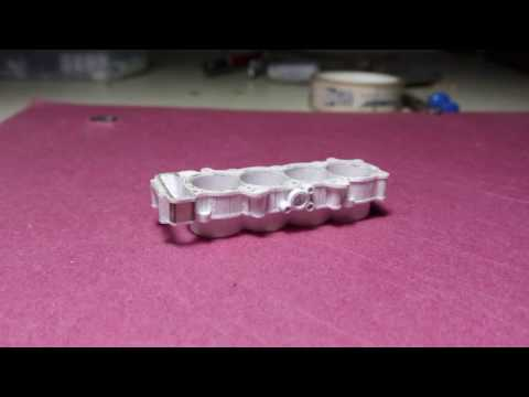 2015 Yamaha YZF-R1 Engine paper model: Part 1- Cylinder bank