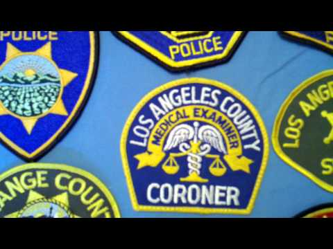 Police Patch Collection 08: California