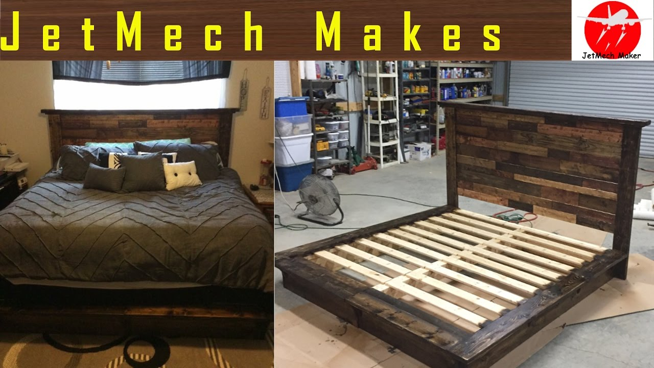 Make A Wood Pallet Bed