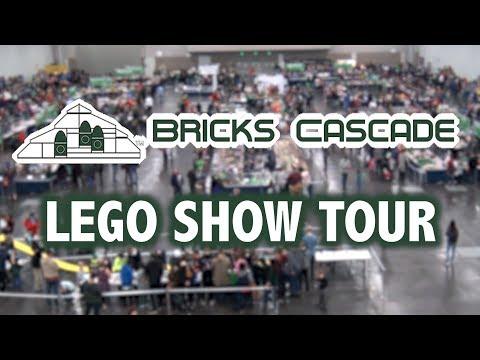 Tour of Bricks Cascade 2018 LEGO Convention (Portland, Oregon)