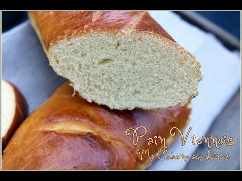 recette-pain-viennois-recette-facile-/-how-to-make-viennese-bread-video