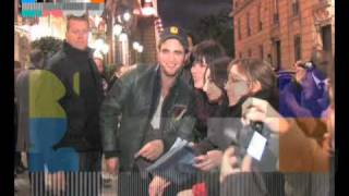 Robert Pattinson, Kristen Stewart, Taylor Lautner share some love with their fans in Paris