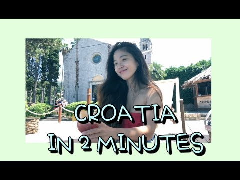 2분안에 담아본 크로아티아 여행 :) Croatia travel vlog