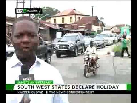 June 12: Southwest States declare holiday