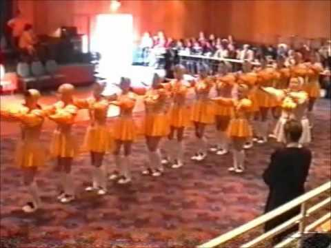 Rubettes Dance Troupe - Yellow & White (96/97)