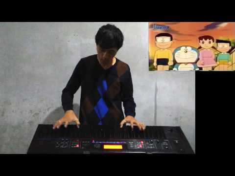 Doraemon - keyboard cover [Dwi Kharisma]