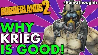 Borderlands 2 Is Krieg The Psycho A Fun And Good Character To Play Solo Co Op PumaThoughts