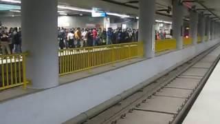 Mandi House, Delhi metro train station