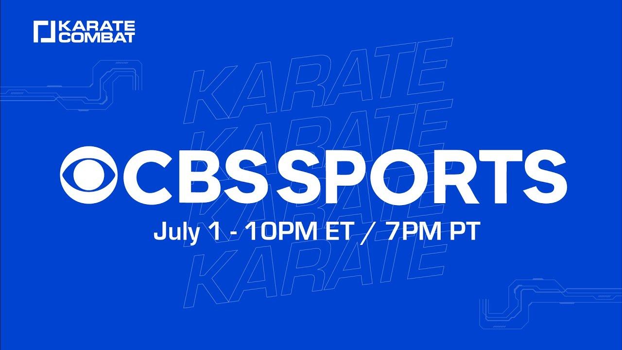 Karate Combat lands on CBS Sports Network