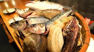 6 新宿の四十八漁場で海鮮だらけの夕食:東京寺社巡り旅 http://miminome...
