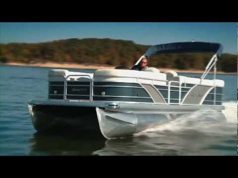Pontoon and Deck Boat Review an Aqua Patio 220