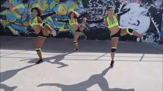 Party Done - Machel Montano Angela Hunte - Soca Dance Video - Free it up dance 2015  Australia
