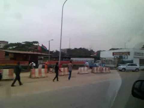 @Luanda, going to the Hotel 5