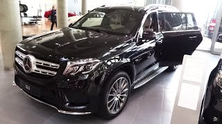 2017 2016 Mercedes-Benz GLS 350d AMG 4Matic Detailed Presentation Review