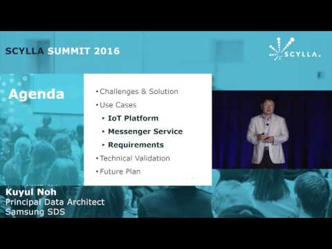 ScyllaDB in Samsung SDS, From PoC to Contribution and Beyond | Scylla Summit 2016