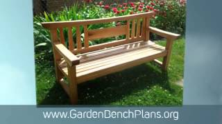 Woodworking Projects Plans And Tips For Garden Benches - Gardenbenchplans.org