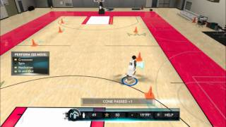 NBA 2k11 My player Dribble Course(PC)